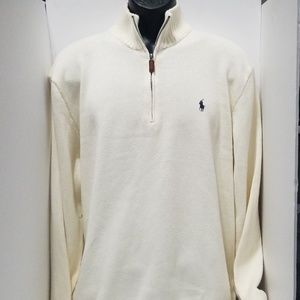 Polo by Ralph Lauren Pullover Sweater with zipper.